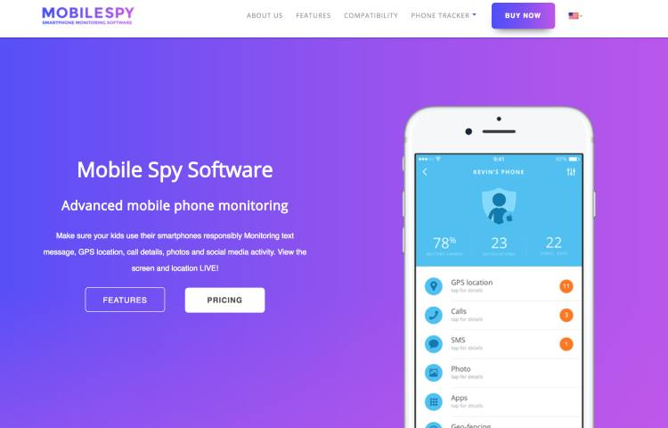 mobilespy website
